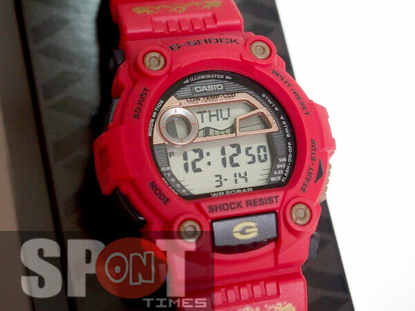 b709bfb19f56 Details about Casio G-Shock SHICHI-FUKU-JIN Series Limited Men s Watch G -7900SLG-4