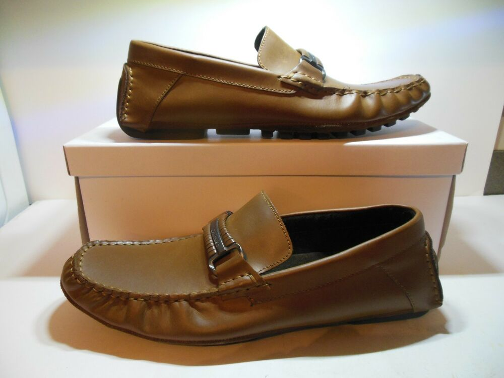 Men's Calvin Klein Dario 2 Action Driving Loafers Size 10M Leather Slid On NIB | eBay