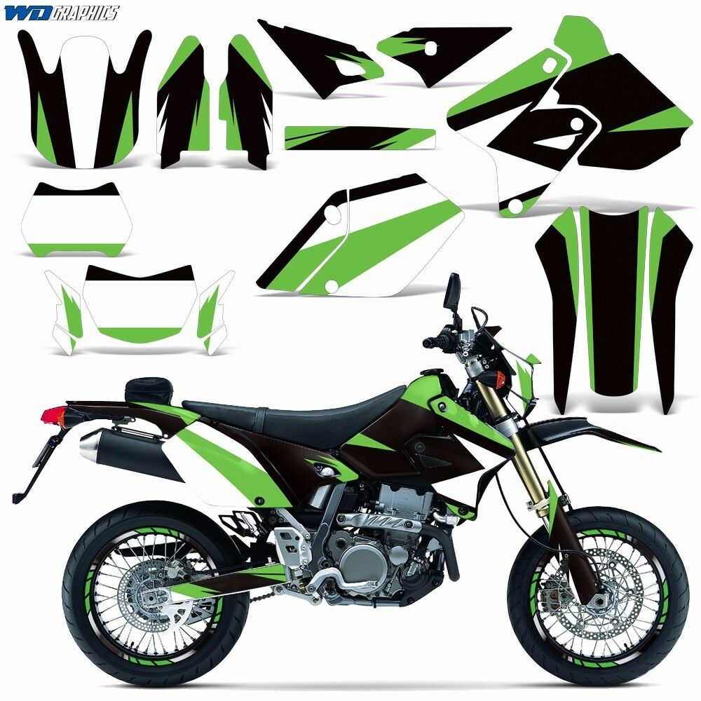 Details about decal graphic kit suzuki drz400 drz 400 sm e dirt bike sticker w backgrounds mo