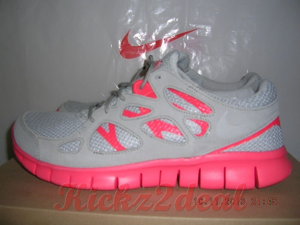 ef96581434efa Details about NEW NIKE FREE RUN 2 EXT Running Shoes MENS SZ 8 - 12 Grey Crimson  Red 555174-002