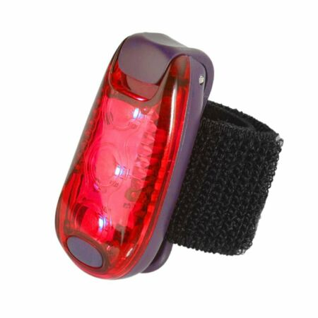 img-Super Bright Bike Bicycle Strobe Tail Rear Clip-On Jogger Helmet LED Safety Lamp