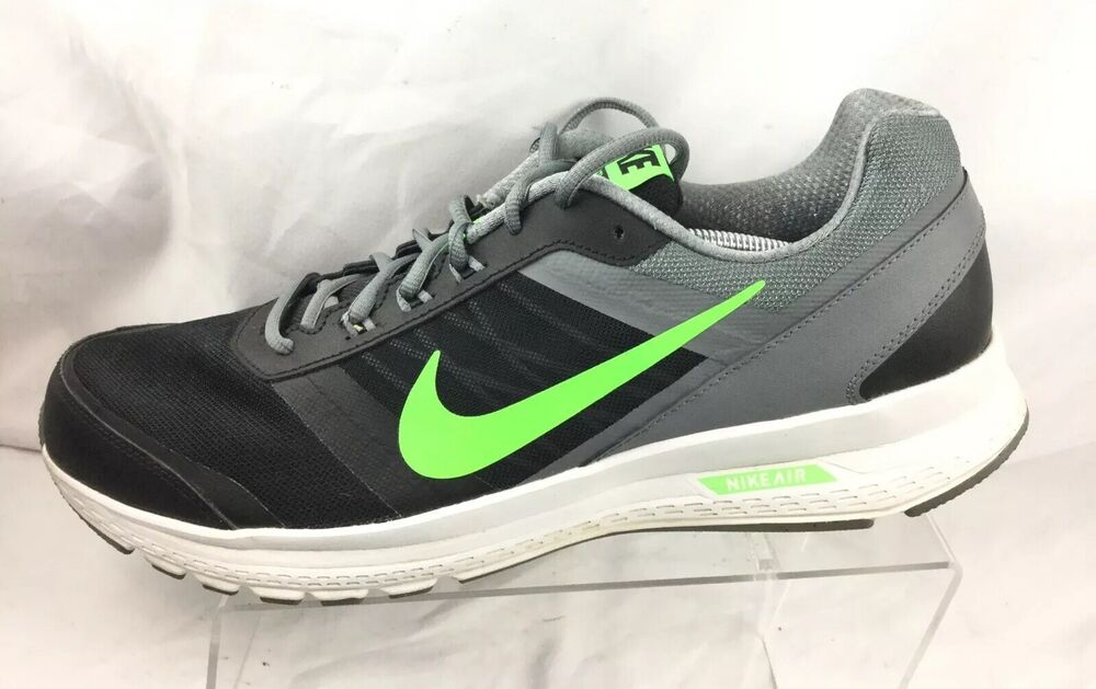 eac1d1710f3 Details about NIKE Air Relentless 5 Running Shoes Men s Size 14- 807092-007  Gray   Lime  Black