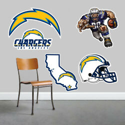 Los Angeles Chargers Wall Art 5 Piece Set Large Size------New in Box------