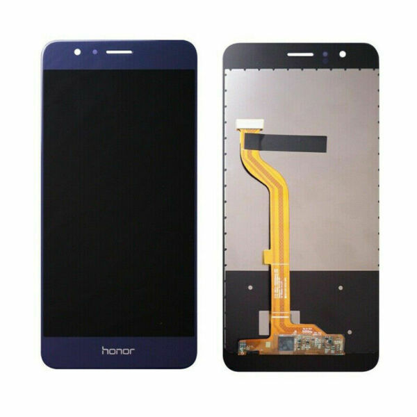 TOUCH SCREEN VETRO + LCD DISPLAY Per HUAWEI HONOR 8 FRD-L09 FRD-L19 Blu