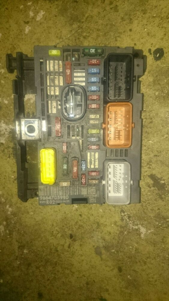 Citroen C4 Picasso Hdi Engine Fuse Box Bsm