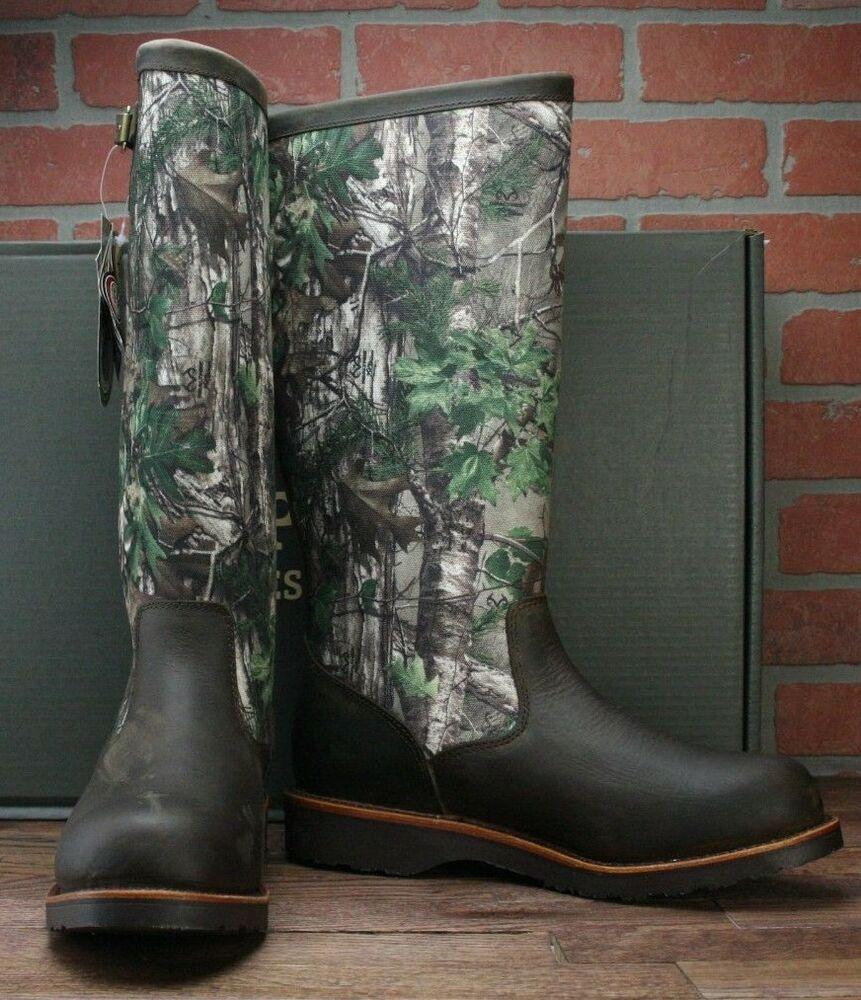 fe470e14be Details about Chippewa 25118 Realtree 17 Inch Snake Boot Snakeproof Camo  Boots Men's 11 D