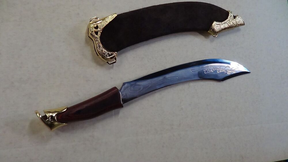 Lord Of The Rings Sword Elven Knife Of Strider Dagger Ebay