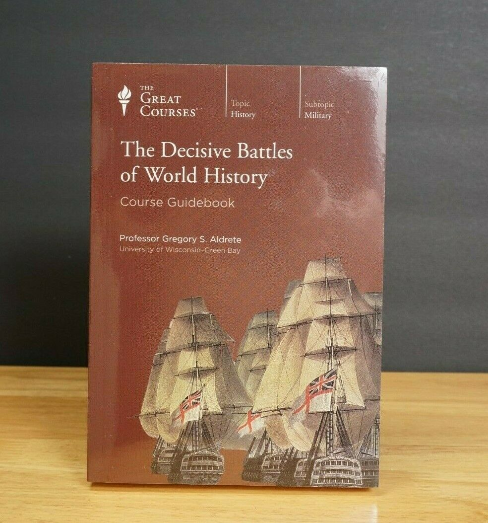 ISBN 9781629970578 product image for The Great Courses: The Decisive Battles Of World History Dvds 36 Lectures | upcitemdb.com