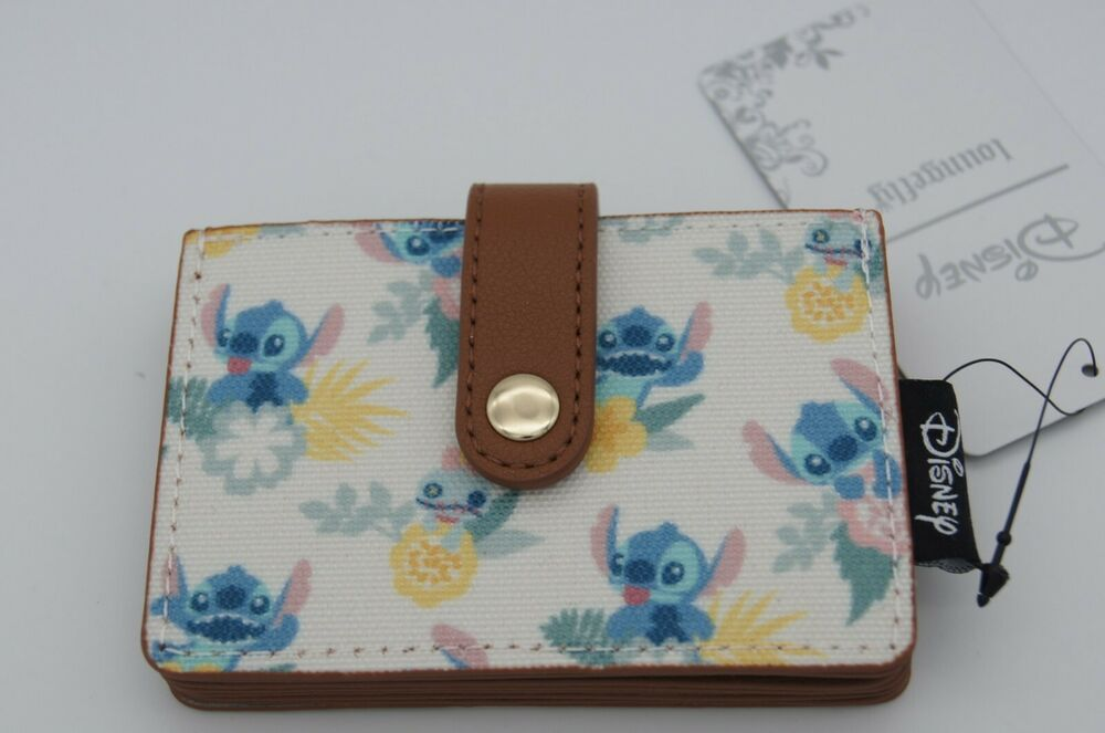 c089c143120 Loungefly Disney Lilo   Stitch and Scrump Pastel Tropical Cardholder Wallet