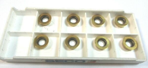 X10 RDHW 0803M0T MD05 F25M SECO CARBIDE INSERTS TIPS NEW COATED TIPS  #VB5