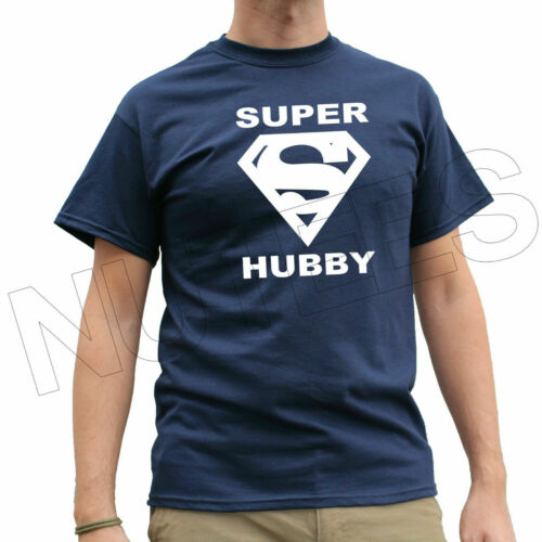 Super Hubby Anniversary Funny Men's T-Shirts Vests S-XXL