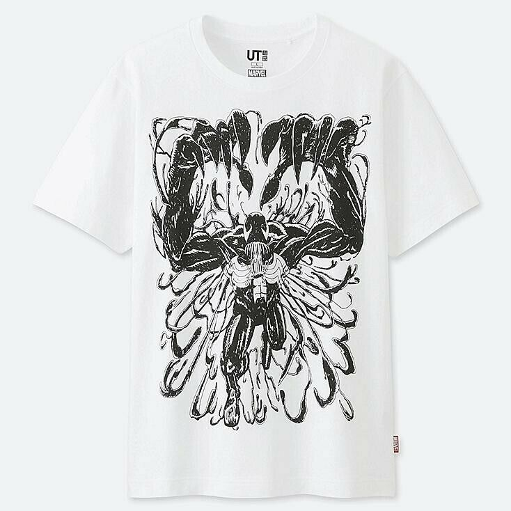 46e19180 Details about Uniqlo x Marvel Venom Spiderman T-Shirt UT2019 Large NEW  SEALED WITH TAGS