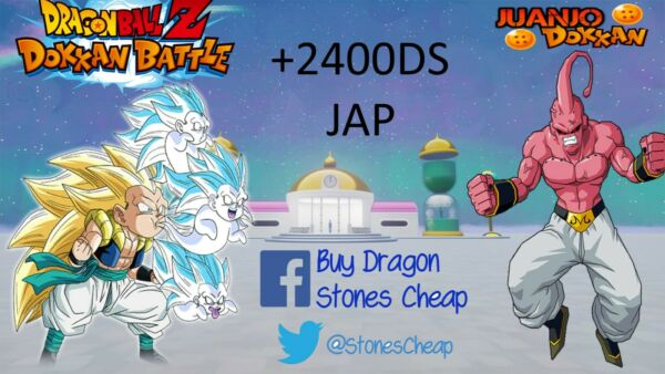 DOKKAN BATTLE ACCOUNT FARMED JAP +2700 STONES  READ DESCRIPTION
