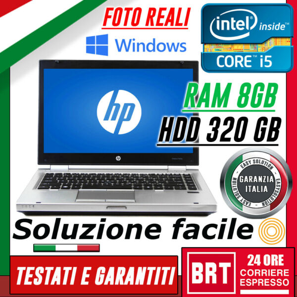 PC NOTEBOOK PORTATILE HP Elitebook 8470p 14