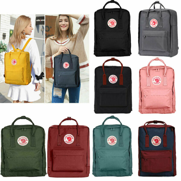 fdebd3a9dd 16 / 20L Unisex Fjallraven Kanken Shoulder Travel School bag Zaino causale  IT