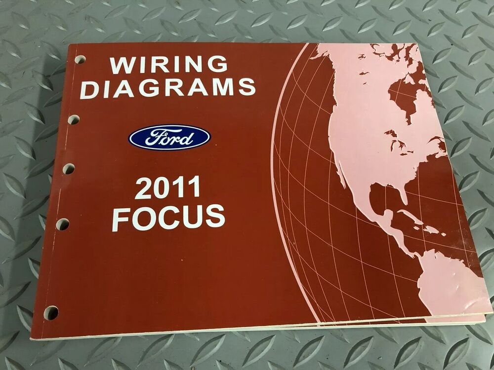2011 Ford Focus Electrical Wiring Diagram Manual Ewd