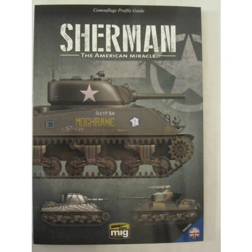 book-camouflage-profile-guide-sherman-the-american-miracle-by-mig-jimenez