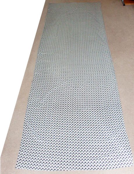 Woman's rectangle scarf