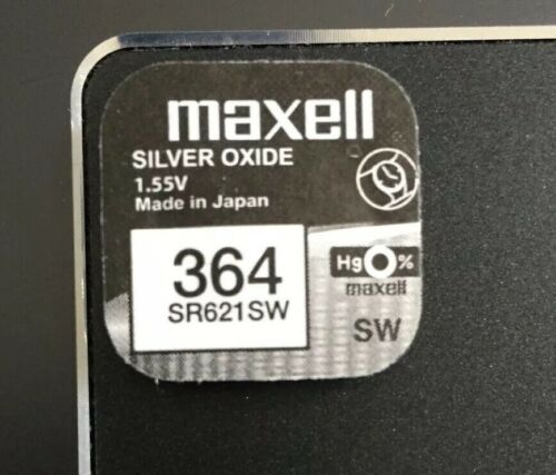 Maxell Watch Battery 364 SR621SW For Armani Boss Kors Diesel Guess Seiko Rotary