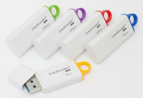 KINGSTON  PENDRIVE CHIAVETTA USB 2.0/3.0/3.1 8GB-16GB-32GB-64GB DATATRAVELER G4