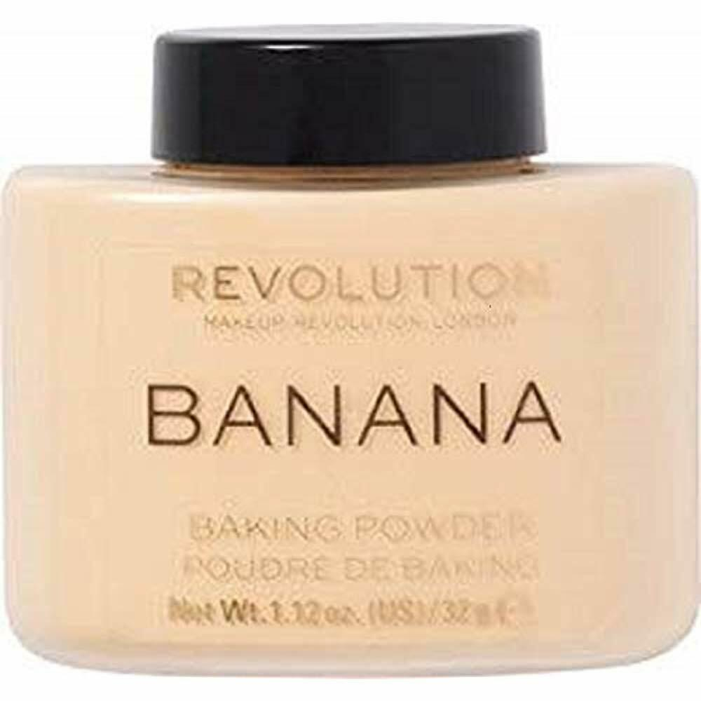 Makeup Revolution Banana Powder Light-weight Finishing Powder All Skin Tones