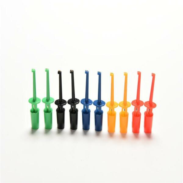 Multi-couleur 10 Pcs Mini Test Crochet De Test Pince Sonde De Test SMD Grab OFQ