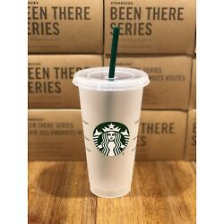 Kyпить Starbucks Mermaid Siren Logo Reusable Frosted Cold Cup Coffee Tea Tumbler 24 oz на еВаy.соm