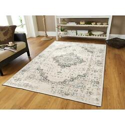 Kyпить Traditional Distressed Area Rug 8x10 Large Rugs for Living Room 5x8 Gray Ivory на еВаy.соm