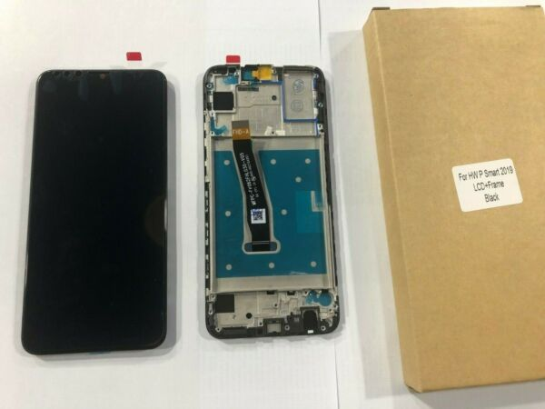 Display Lcd Per Huawei P Smart 2019 + frame Touch Screen Schermo Nero