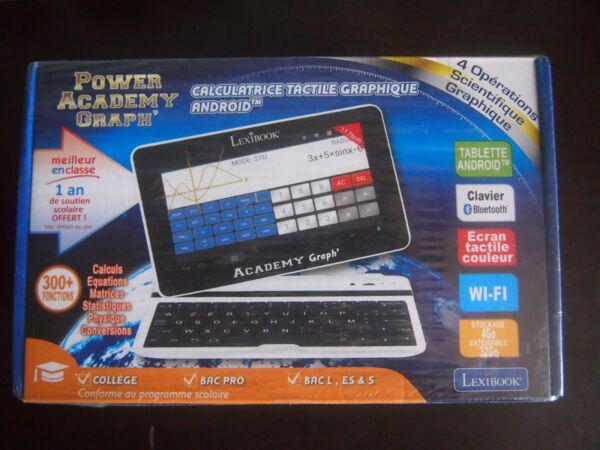 Calculatrice Tablette tactile Android Power Academy Graph wifi clavier bluetooth