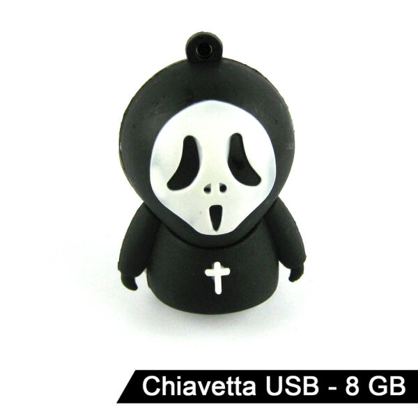 Chiavetta USB - Ghostface Scream - 8GB - USB 2.0