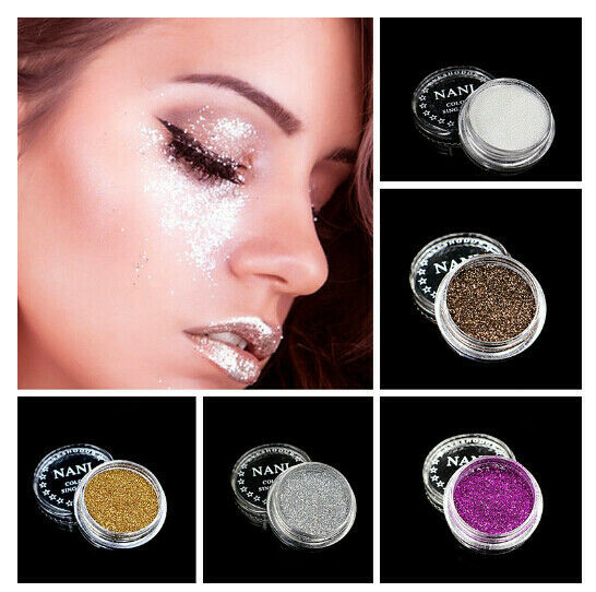 Makeup Loose Eyeshadow Pigment Shadow Up Glitter