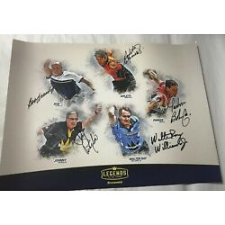 Kyпить Brunswick Legends PBA Bowling Signed Autograph Poster Walter Ray Williams JR на еВаy.соm
