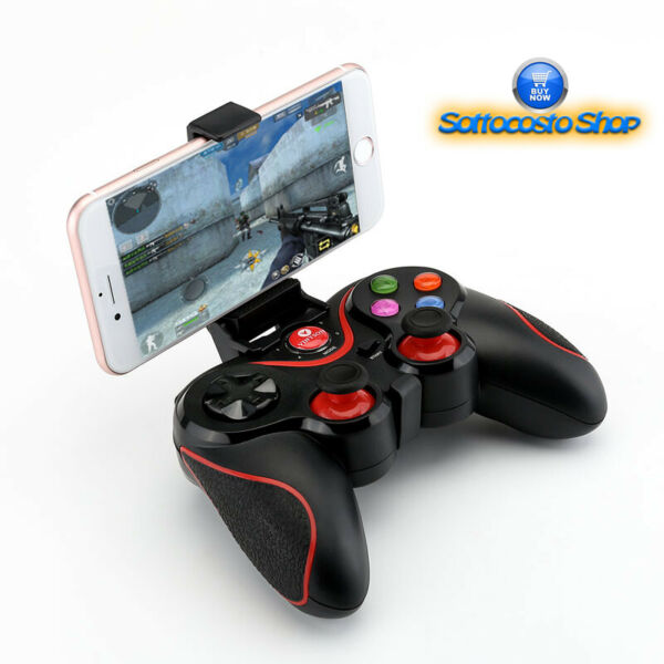 CONTROLLER JOYPAD WIRELESS BLUETOOTH SMARTPHONE ANDROID IOS WINDOWS PHONE PS3 PC