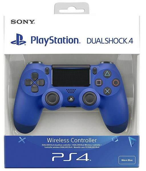 CONTROLLER PS4 DUALSHOCK 4 V2 WAVE BLUE PLAYSTATION 4 SONY