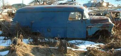 1955 1956 Chevy Chevrolet 1T Panel rat hot rod project