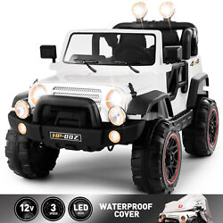 Kyпить 12V Electric Battery Kids Ride on Car Truck Toys LED MP3 w/Remote Control White на еВаy.соm