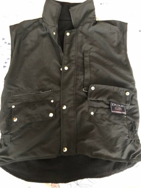 Sleeveless Reversible Jacket With Hidden Hood In Collar  Size M