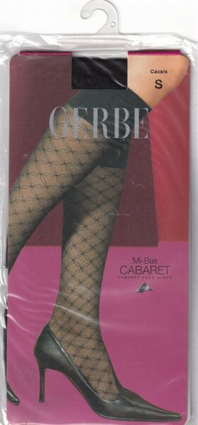 Paris,FranceMi-bas fantaisie GERBE CABARET. Fashion .