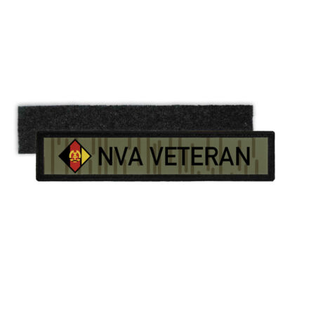 img-Name Patch Nva Veteran Reservist GDR National People's Army Sew-On #27758