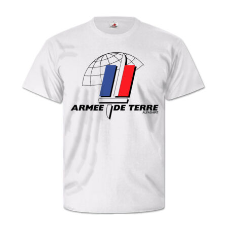 img-Military Army France Soldiers Army de Terre Landstreitkräfte- T Shirt #5376