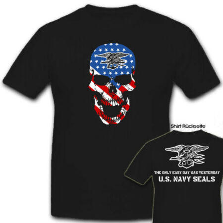 img-U.S.Navy Seals Skull USA America Army Seal United States - T Shirt #6888