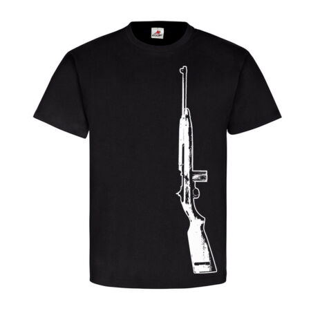 img-M1 Carbine US Army u. S.Marine Corps Decor Weapon Soldier T-Shirt #17865