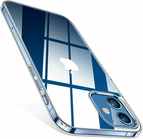 For iphone 11 Pro Max Clear Transparent Crystal Slim Silicone Soft Case Cover