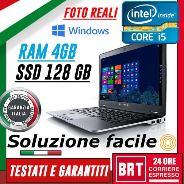 PC NOTEBOOK PORTATILE DELL 6430U 14