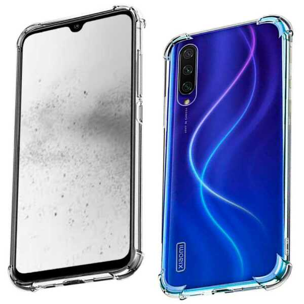 Clear TPU Gel Silicone ShockProof Antishock Case Cover for Xiaomi Mi A3/CC9e
