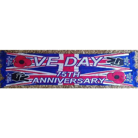 img-VICTORY IN EUROPE 75TH ANNIVERSARY SCARF