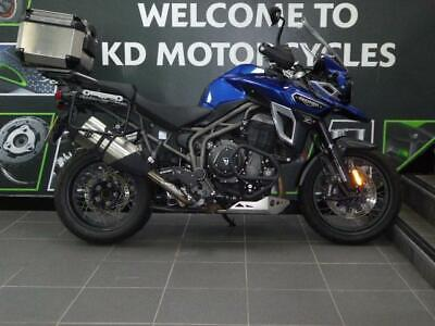2016 16 REG TRIUMPH TIGER EXPLORER 1200 XCX WITH FULL LUGGAGE LOADED WITH EXTRAS