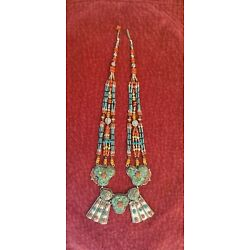 Kyпить Beautiful Large Turqwuoise Southwestern Necklace на еВаy.соm