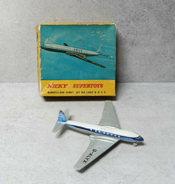 Nicky Toys 999  DeHavilland Comet B.O.A.C  Boxed